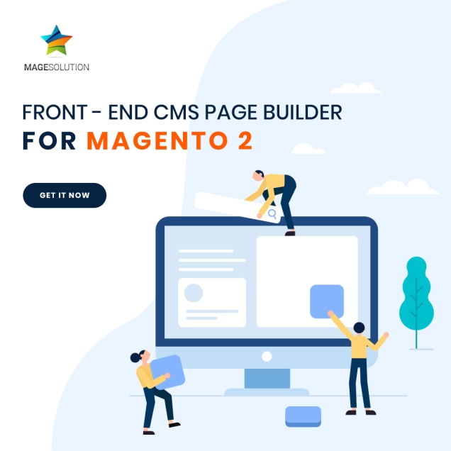 cms page builder magento 2